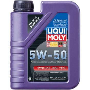Синтетическое моторное масло Liqui Moly 5W-50 Synthoil High Tech (1 л)
