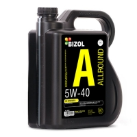 Масло моторное BIZOL 5W-40 Allround (5 л), 9030, Bizol, Моторное масло