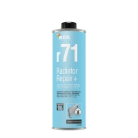 Присадка для устранения течи системы охлаждения Bizol Radiator Repair+ r71 (0,25 л), 712, Bizol, Присадки