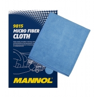 Салфетка из микрофибры очищающая Mannol Micro Fiber Cloth, 2092, Mannol, Уход за автомобилем