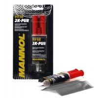 Набор для быстрого ремонта (пластик) Mannol 2K-PUR (0,03 кг), 2046, Mannol, Клеи и герметики