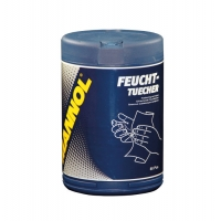 Влажные салфетки Mannol Feuchttueche (80 шт), 2093, Mannol, Уход за автомобилем