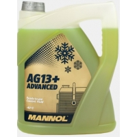 Антифриз Mannol AG13+ Advanced Antifreeze -40°C (5 л)