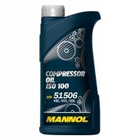 Компрессорное масло Mannol Compressor Oil ISO 100 (1 л), 1940, Mannol, Промышленные масла