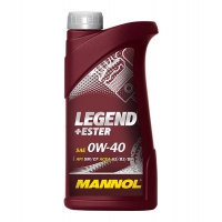Масло моторное Mannol 0W-40 Legend+Ester (1 л), 1863, Mannol, Моторное масло