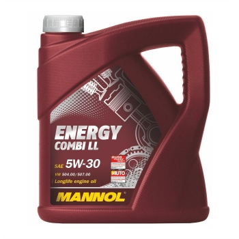 Масло моторное Mannol 5W-30 Energy Combi LL (4 л)