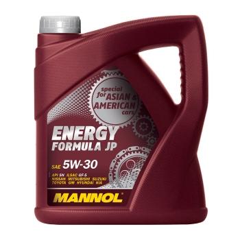 Масло моторное Mannol 5W-30 Energy Formula JP (4 л)