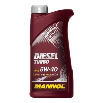 Масло моторное Mannol 5W-40 Diesel Turbo (1 л)