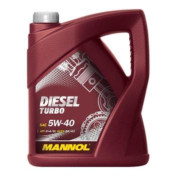 Масло моторное Mannol 5W-40 Diesel Turbo (5 л)