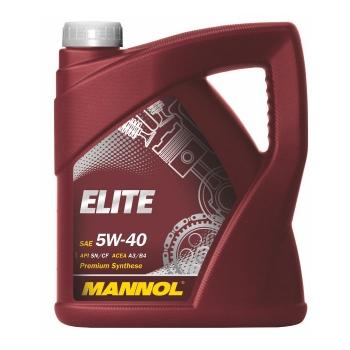 Масло моторное Mannol 5W-40 Elite (4 л)