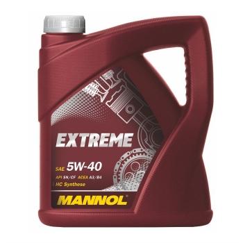 Масло моторное Mannol 5W-40 Extreme (4 л)