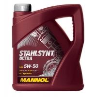 Масло моторное Mannol 5W-50 StahlSynt Ultra (4 л), 1832, Mannol, Моторное масло