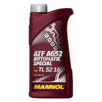 Масло для АКПП и гидроприводов Mannol ATF AG52 Automatic Special (1 л), 1933, Mannol, Трансмиссионное масло