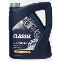 Масло моторное Mannol 10W-40 Classic (4 л), 1776, Mannol, Моторное масло