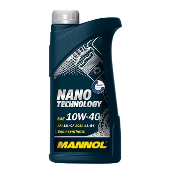 Масло моторное Mannol 10W-40 Nano Technology (1 л)