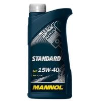 Масло моторное Mannol 15W-40 Standard (1 л), 1800, Mannol, Моторное масло