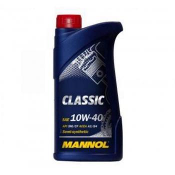 Масло моторное Mannol 10W-40 Classic (1 л)