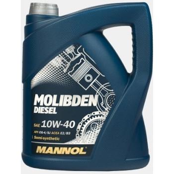 Масло моторное Mannol 10W-40 Molibden Diesel (5 л)