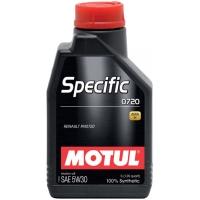 Синтетическое моторное масло Motul SPECIFIC 0720 5W-30 (1 л), 3347, Motul, Моторное масло
