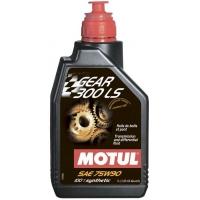 Масло трансмиссионное Motul Gear 300 LS 75W-90 (1 л), 3369, Motul, Трансмиссионное масло