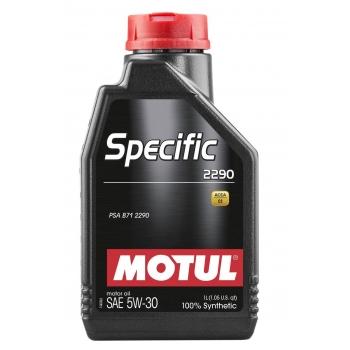 Синтетическое моторное масло Motul SPECIFIC 2290 5W-30  (1 л)