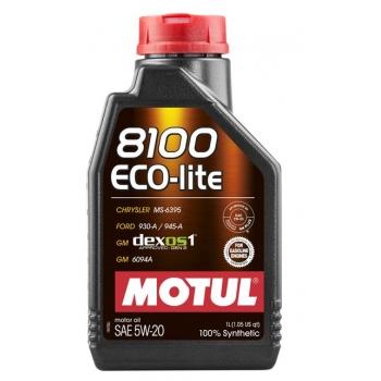 Синтетическое моторное масло Motul 8100 ECO-LITE 5W-20 (1 л)