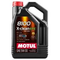 Моторное масло Motul 8100 X-Clean EFE 5W-30 (4 л), 10970, Motul, Моторное масло