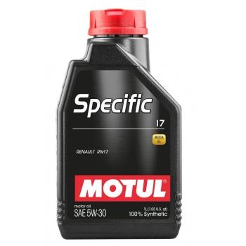 Синтетическое моторное масло Motul SPECIFIC 17 5W-30 (1 л)