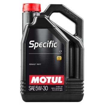 Синтетическое моторное масло Motul SPECIFIC 17 5W-30 (5 л)