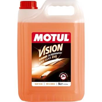 Готовая к применению жидкость омывателя Motul Vision Summer Insect Remover (5 л)
