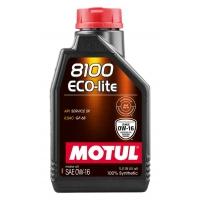 Синтетическое моторное масло Motul 8100 ECO-LITE 0W-16 (1 л), 10953, Motul, Моторное масло