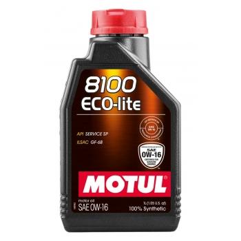 Синтетическое моторное масло Motul 8100 ECO-LITE 0W-16 (1 л)