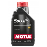 Синтетическое моторное масло Motul SPECIFIC 0101 10W-50  (1 л), 10951, Motul, Моторное масло