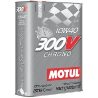 Спортивное моторное масло Motul 300V Chrono SAE 10W-40 (2 л), 11187, Motul, Моторное масло
