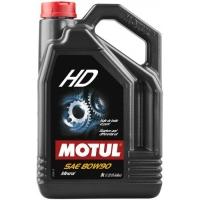 Масло трансмиссионное Motul HD 80W-90 (5 л), 3390, Motul, Трансмиссионное масло