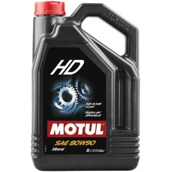 Масло трансмиссионное Motul HD 80W-90 (5 л)