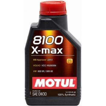 Синтетическое моторное масло Motul 8100 X-max 0W-30 (1 л)