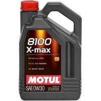 Синтетическое моторное масло Motul 8100 X-max 0W-30 (4 л), 3119, Motul, Моторное масло