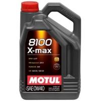 Синтетическое моторное масло Motul 8100 X-max 0W-40 (4 л), 3121, Motul, Моторное масло