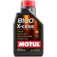 Моторное масло Motul 8100 X-cess 5W-30 (1 л), 7390, Motul, Моторное масло