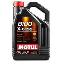 Моторное масло Motul 8100 X-cess 5W-30 (4 л), 6673, Motul, Моторное масло