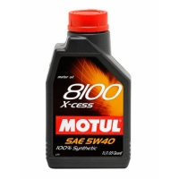 Синтетическое моторное масло Motul 8100 X-cess 5W-40 (1 л), 3108, Motul, Моторное масло