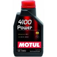 Полусинтетическое моторное масло Motul 4100 Power 15W-50 (1 л), 3212, Motul, Моторное масло