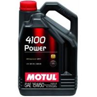 Полусинтетическое моторное масло Motul 4100 Power 15W-50 (5 л), 3215, Motul, Моторное масло