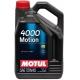 Минеральное моторное масло Motul 4000 Motion 15W-40 (5 л)