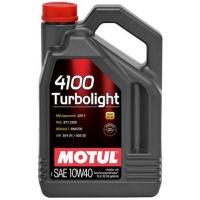 Полусинтетическое моторное масло Motul 4100 Turbolight 10W-40 (5 л), 3209, Motul, Моторное масло