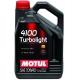 Полусинтетическое моторное масло Motul 4100 Turbolight 10W-40 (4 л)