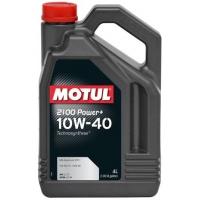 Полусинтетическое моторное масло Motul 2100 Power+ 10W-40 (4 л), 3217, Motul, Моторное масло