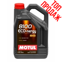 Синтетическое моторное масло Motul 8100 Eco-nergy 5W-30 (4 л), 3113, Motul, Моторное масло
