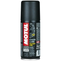 Белая смазка для цепи мотоциклов Motul C4 Chain Lube Factory Line (100 мл), 4697, Motul, Мото программа